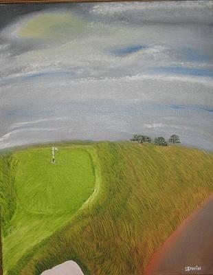 European Golf Tour Art Print by Edwin Long