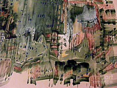 Painting - European Postcard by Nancy Kane Chapman