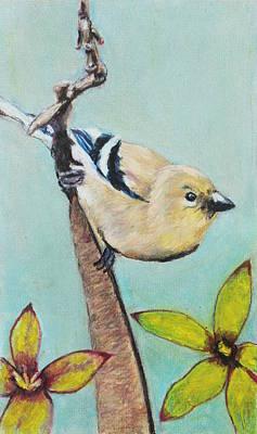 Painting - European Songbird by Jeanne Fischer