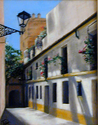 Painting - European Street by Joyce Snyder
