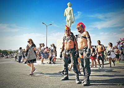 Photograph - Europride  by Jean Francois Gil