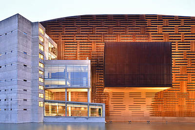 Euskalduna Center Bilbao Spain Art Print