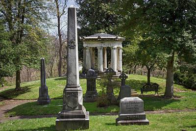 Photograph - Eustis Mausoleum At Oak Hill Cemetery #2 by Stuart Litoff