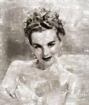 Eva Gabor, Actress Art Print by Mary Bassett