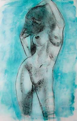Painting - EVA by Jarko Aka Lui Grande