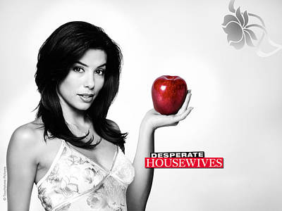 Eva Longoria Desperate Housewives Art Print