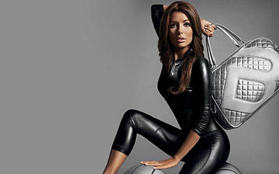 Fashion Digital Art - Eva Longoria by Super Lovely