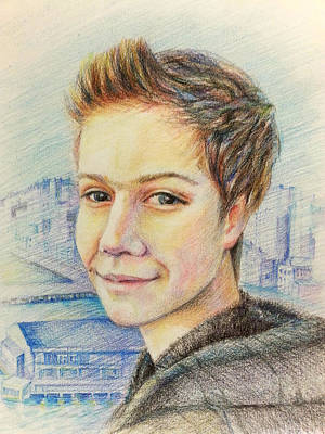 Drawing - Evan by Svetlana Nassyrov