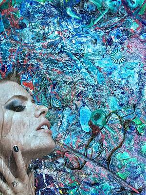 Reverie Mixed Media - Evanescent Ardor by Megan Henrich