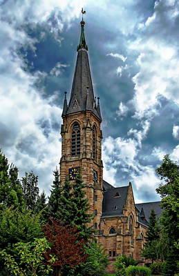 Photograph - Evangelical Church by Anthony Dezenzio