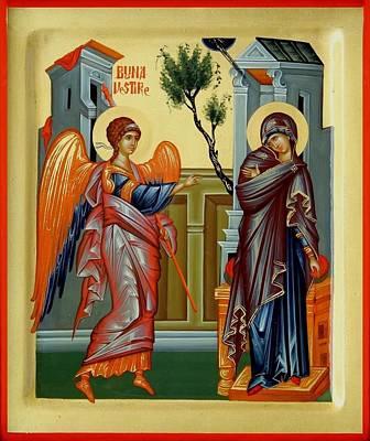 Evanghelismos Art Print