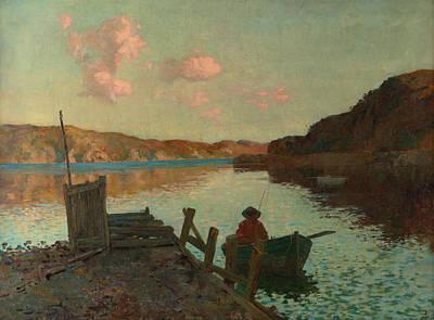 Painting - Evans Bay by James Nairn