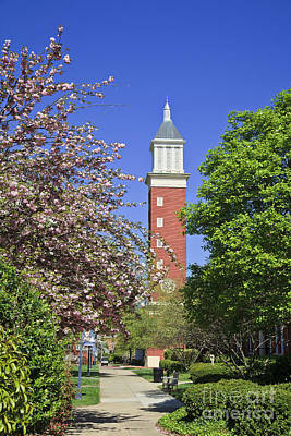 Photograph - Evans Clock Tower At Queens University by Jill Lang