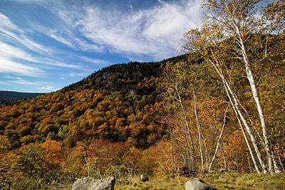 Photograph - Evans Notch In Maine by Jeff Folger
