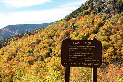 Photograph - Evans Notch Route 113 by Jeff Folger