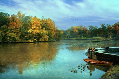 Photograph - Evans Pond by John Rivera