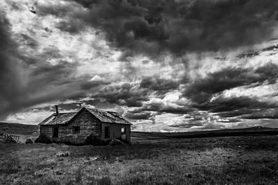Swank Photograph - Evanston Cabin by Mike Swank