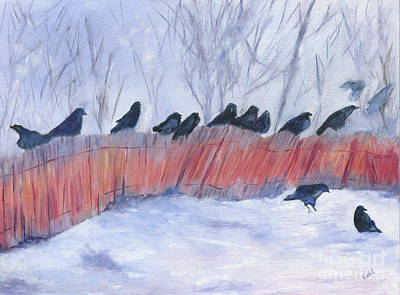 Evanston Crow Roost Art Print