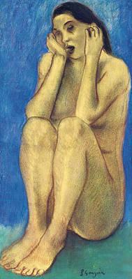 Painting - Eve Bretonne II by Paul Gauguin