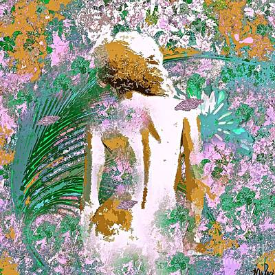 Painting - Eve In Paradise by Saundra Myles