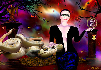 Robert Martin Digital Art - Eve by Robert Martin