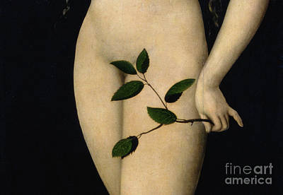 Garden-of-eden Painting - Eve by The Elder Lucas Cranach