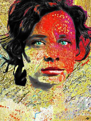 Mixed Media - Eve by Tony Rubino