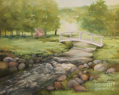 Becky Painting - Evelyn's Creek by Becky West