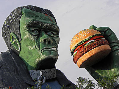 Photograph - Even Frankie Loves A Burger by Elizabeth Hoskinson