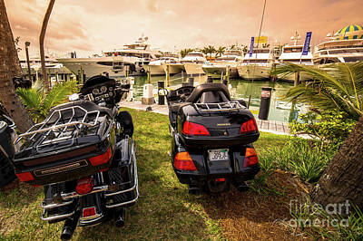 Photograph - Even The Hawgs Enjoy Boat Shows by Rene Triay Photography