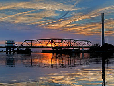 Reflective Photograph - Evening Airs  by Betsy Knapp