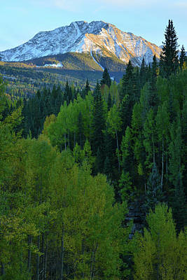 Photograph - Evening Along Silverton To Durango Highway by Ray Mathis