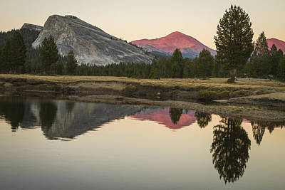 Photograph - Evening Alpenglow  by Duncan Selby