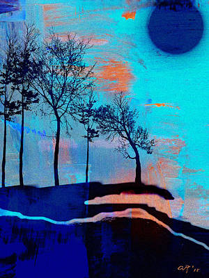 Painting - Evening by Amy Shaw