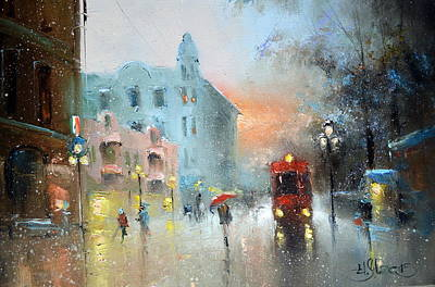 Painting - Evening Arbat by Igor Medvedev