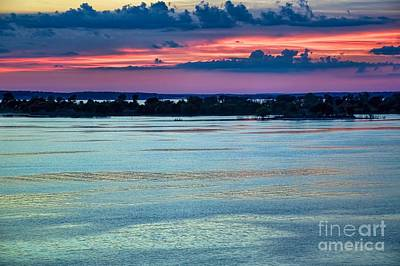 Photograph - Evening At Denison by Diana Mary Sharpton