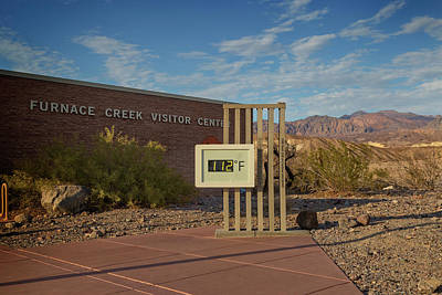 Photograph - Evening At Furnace Creek by Ricky Barnard