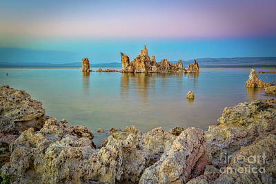 Photograph - Evening At Mono Lake by Mimi Ditchie