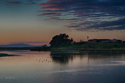 Moss Landing Photograph - Evening At Moss Landing by Bill Roberts