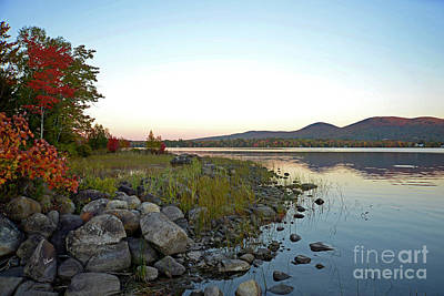 Photograph - Evening At Porter Lake by Alana Ranney
