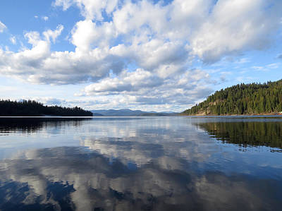 Evening At Priest Lake Art Print