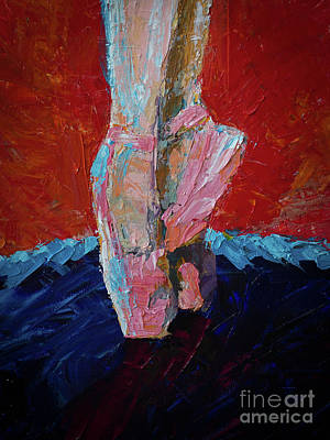 Overcoming Painting - Evening At The Ballet by Robert Yaeger