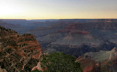 Photograph - Evening At The Canyon by Laurel Powell