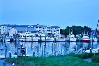 Photograph - Evening At The Dockside - Lewes Delaware by Kim Bemis