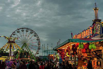 Photograph - Evening At The Fair by Alex Lapidus