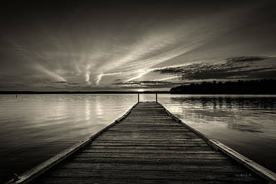 Photograph - Evening At The Lake by Bob Orsillo