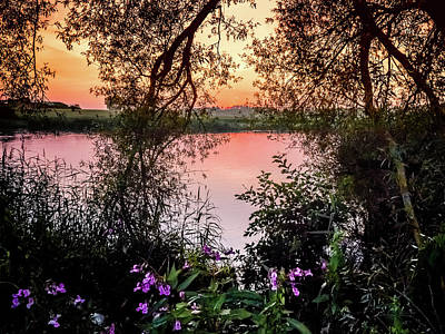Photograph - Evening At The Lake by Holger Debek