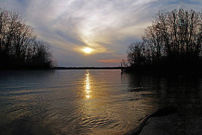 Photograph - Evening At The Lake by Mike Murdock