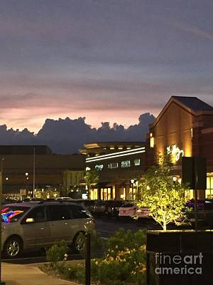 Photograph - Evening At The Mall by Parker ODonnell