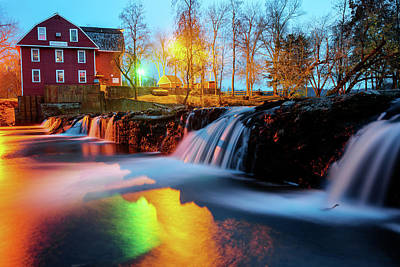 Photograph - Evening At The War Eagle Mill - Arkansas by Gregory Ballos